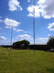 ons antennepark voor 2 mtr en 6 mtr